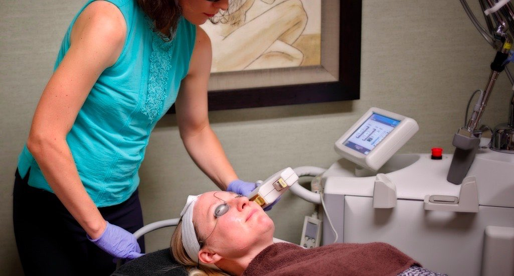 Photofacial or BBL (Broadband light) Photo Rejuvenation gives you younger looking skin and treats facial capillaries, age spots, sun damage, rosacea and fine lines and is offered at RefineMD in the Appleton, Wisconsin area.