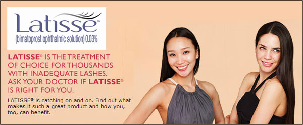 RefineMD aesthetic med spa offers the treatment Latisse that grows longer lashes.