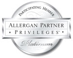 Refine MD aesthetic medical spa in Menasha is participating platinum member of the Allergan Partner Privileges.